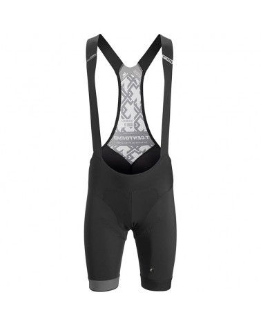 Assos Cento Evo Men's Cycling Bibshorts, Black Series