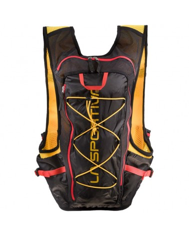 La Sportiva Trail Vest Zaino Gilet Trail Running, Black/Yellow