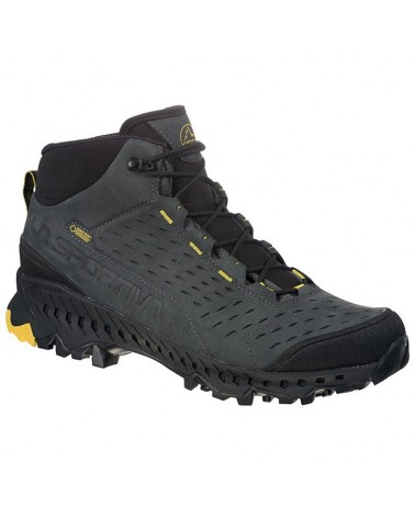 La Sportiva Pyramid GTX Gore-Tex Surround Scarponi Uomo, Carbon/Yellow
