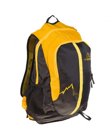 La Sportiva Elite Trek Backpack 22 Liters, Black/Yellow