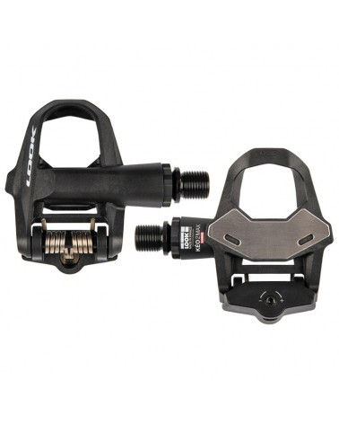 Look Keo 2 Max Carbon Black Road Bike Pedals with Cleats