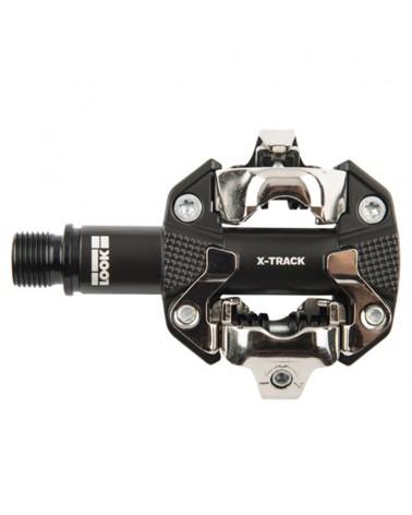 Look X-Track Dark Grey Pedali Bici MTB con Tacchette