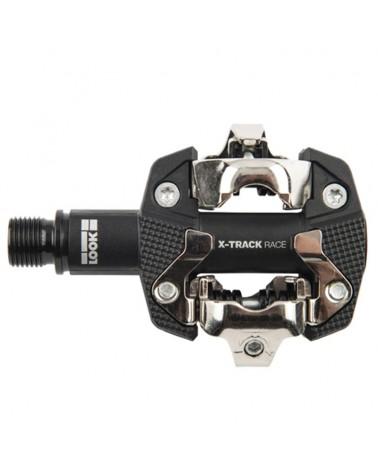 Look X-Track Race Black Pedali Bici MTB con Tacchette