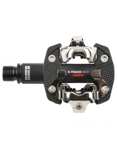 Look X-Track Race Carbon Black Pedali Bici MTB con Tacchette (2018)