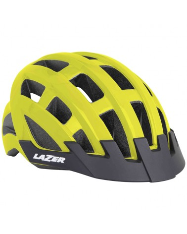 Lazer Compact Casco Road, Flash Yellow (Taglia Unica)