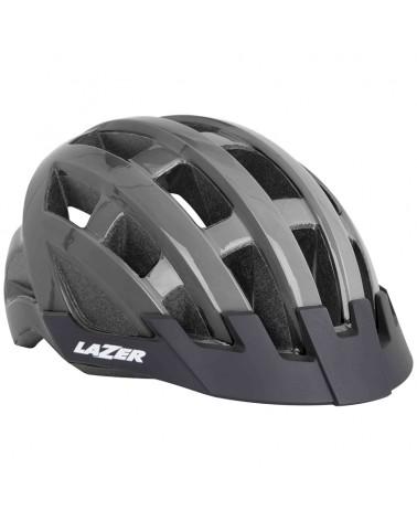 Lazer Compact Helmet Road, Titanium (One Size Fits All)