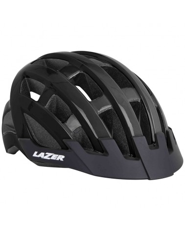 Lazer Compact Helmet Road, Black (One Size Fits All)