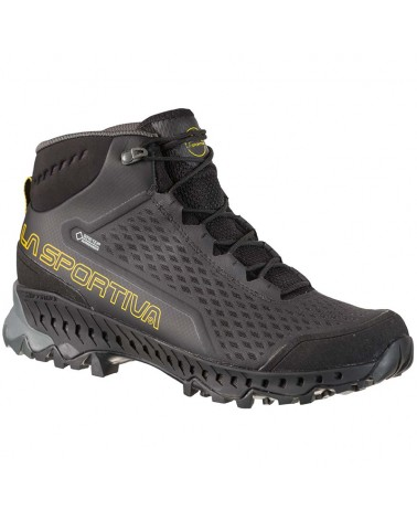La Sportiva Stream GTX Gore-Tex Surround Men's Hiking Boots, Black/Yellow