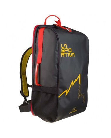 La Sportiva Travel Bag 45 Liters, Black/Yellow