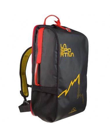 La Sportiva Travel Bag Zaino 45 Litri, Black/Yellow