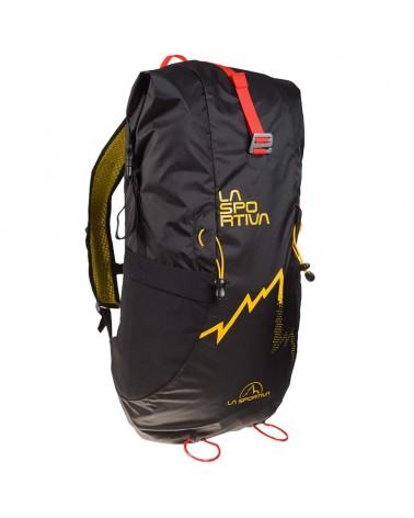 La Sportiva Alpine Backpack Zaino Alpinismo 30 Litri, Black/Yellow