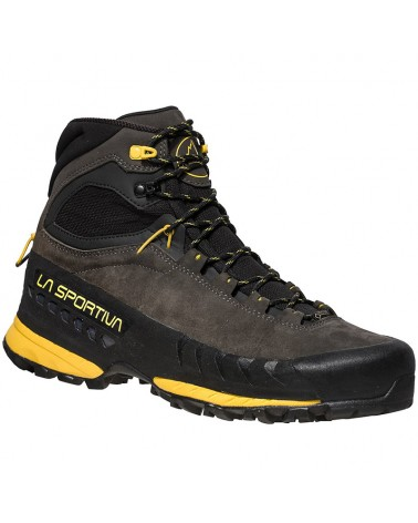 La Sportiva TX5 GTX Gore-Tex Men's Trekking Boots, Carbon/Yellow
