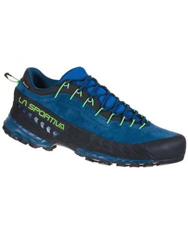 La Sportiva TX4 GTX Gore-Tex Men's Approach Shoes, Opal/Jasmine Green