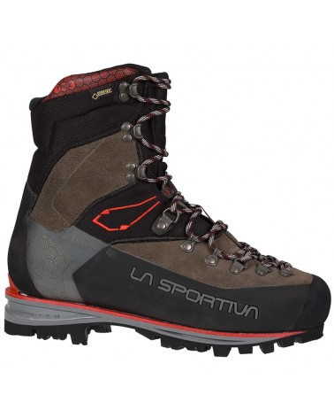 La Sportiva Nepal Trek Evo GTX Gore-Tex Men's Mountaineering Boots, Anthracite/Red