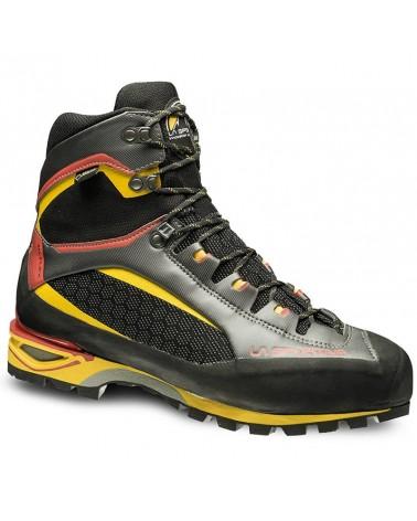 La Sportiva Trango Tower GTX Gore-Tex Men's Mountaineering Boots, Black/Yellow