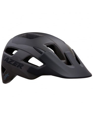 Lazer Chiru MTB Cycling Helmet, Matte Black/Grey