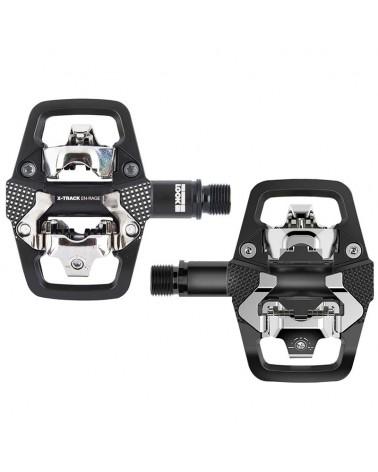 Look X-Track En-Rage Black Pedali Bici MTB con Tacchette