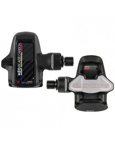 Look Keo Blade Carbon Ceramic TI 16 Road Bike Pedals with Cleats, Black