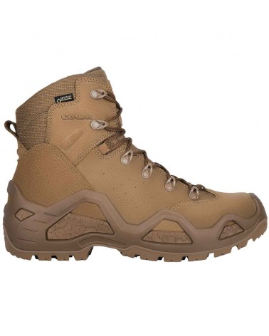 Lowa Z-6S MID GTX Gore-Tex Men's Tactical Boots Suede Leather, Coyote OP