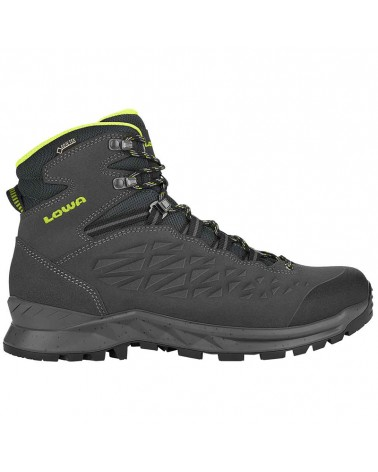 Lowa Explorer MID GTX Gore-Tex Men's Trekking Boots, Anthracite/Lime
