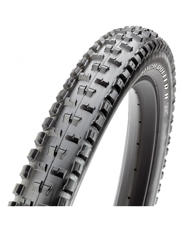 Maxxis High Roller II Plus Exo TR 27,5X2.80 60TPI Dual Compound Folding, Black