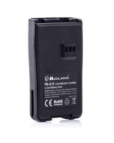 Midland PB-G15 Rechargeable Battery Pack for G15/G18/Arctic
