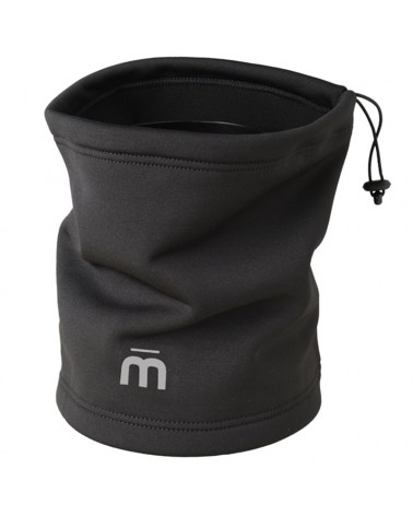 Mico Warm Control Jumper Neck Tube, Black (One Size Fits All)