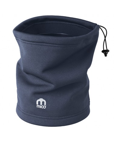 Mico Warm Control Jumper Neck Tube, Anthracite (One Size Fits All)