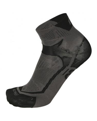 Mico Run X-Performance X-Light Short Socks, Black/Anthracite