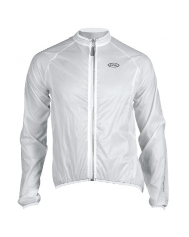 Northwave Breeze Pro Giacca Bici Antivento/Antipioggia, Transparent