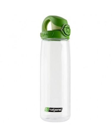 Nalgene Everyday OTF Borraccia da 0,7 L, Trasparente con Tappo Verde