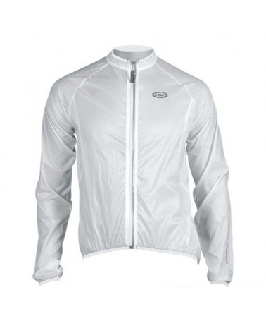 Northwave Breeze Giacca Bici Antivento/Antipioggia, White