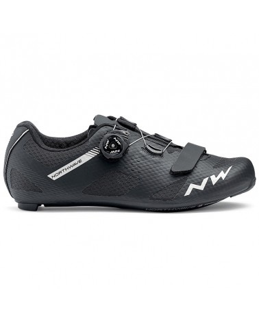 Northwave Storm Carbon Road Cycling Shoes, Black