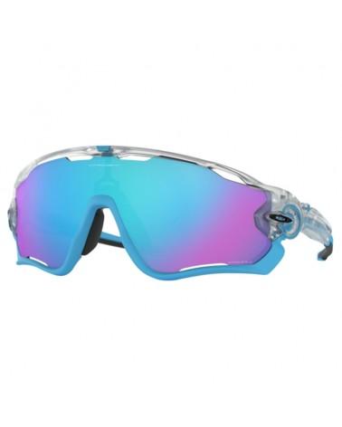 Oakley Occhiali Jawbreaker Matte Clear/Prizm Sapphire Iridium