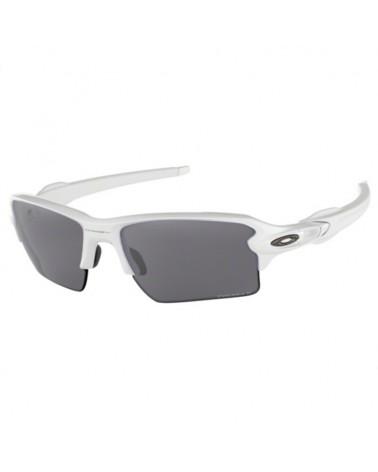Oakley Occhiali Flak 2.0 XL Polished White/Prizm Black Polarized