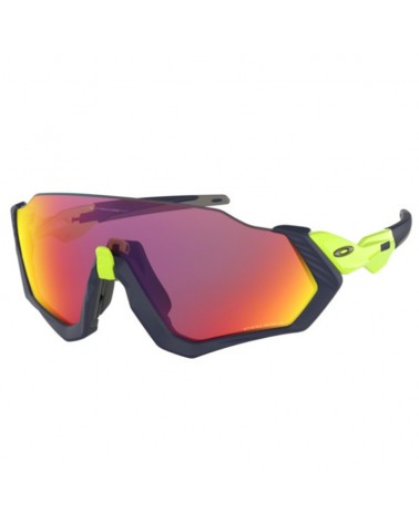 Oakley Occhiali Flight Jacket Matte Navy-Retina Burn/Prizm Road