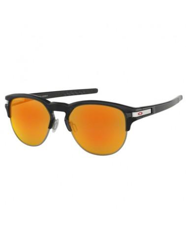 Oakley Glasses Latch Key Size M (52-18) Black Ink/Prizm Ruby