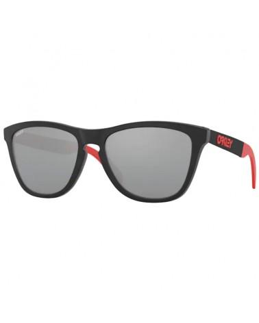 Oakley Frogskins Mix Marc Marquez Collection Glasses Matte Black Ink/Prizm Black Iridium