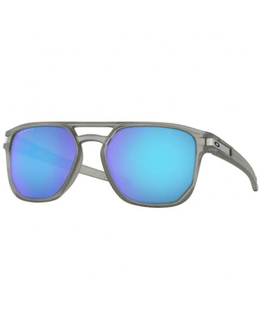 Oakley Latch Beta Glasses Matte Grey Ink/Prizm Sapphire Polarized