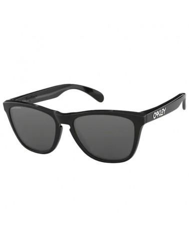 Oakley Frogskins Glasses Polished Black/Prizm Black Iridium