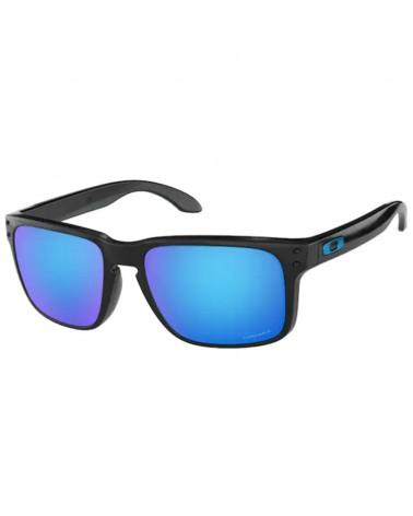 Oakley Glasses Holbrook Polished Black/Prizm Sapphire Iridium