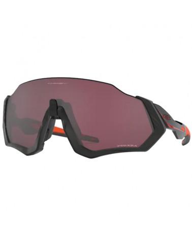 Oakley Cycling Glasses Flight Jacket Ignite Collection Matte Black/Prizm Road Black