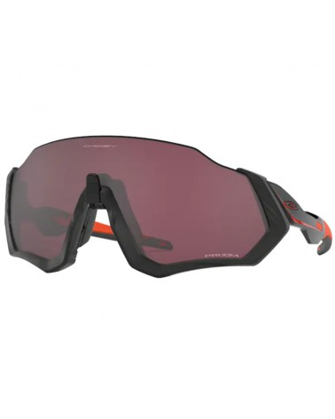 Oakley Occhiali Flight Jacket Ignite Collection Matte Black/Prizm Road Black