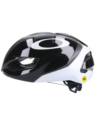 Oakley ARO5 MIPS Cycling Road Helmet, Black/White