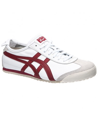 Onitsuka Tiger Mexico 66, White/Burgundy