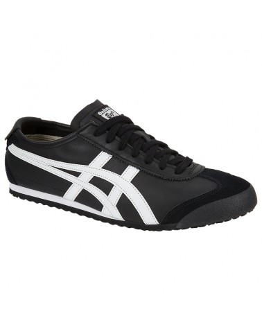 Onitsuka Tiger Mexico 66 Shoes, Black/White
