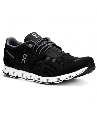 On Cloud Scarpe Running Uomo, Black/White