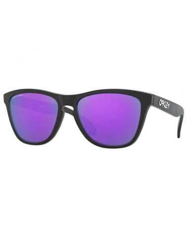 Oakley Occhiali Frogskins Matte Black/Prizm Violet
