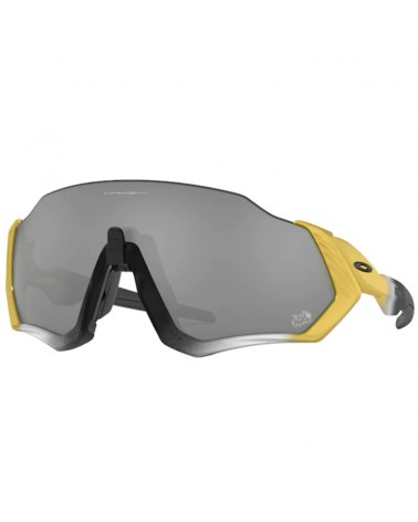 Oakley Cycling Glasses Flight Jacket Tour de France Collection Trifecta Fade/Prizm Black