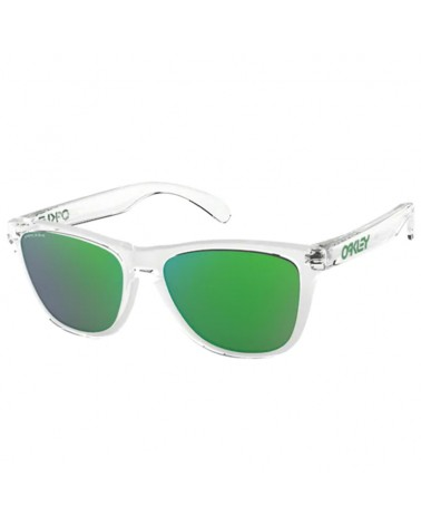 Oakley Frogskins Glasses Crystal Clear/Prizm Jade Iridium